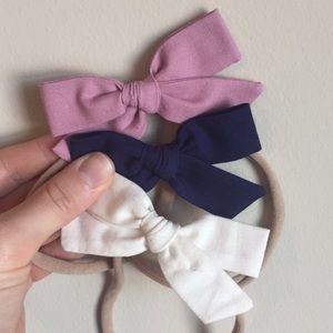 Baby Girl Nylon Stretch Headbands